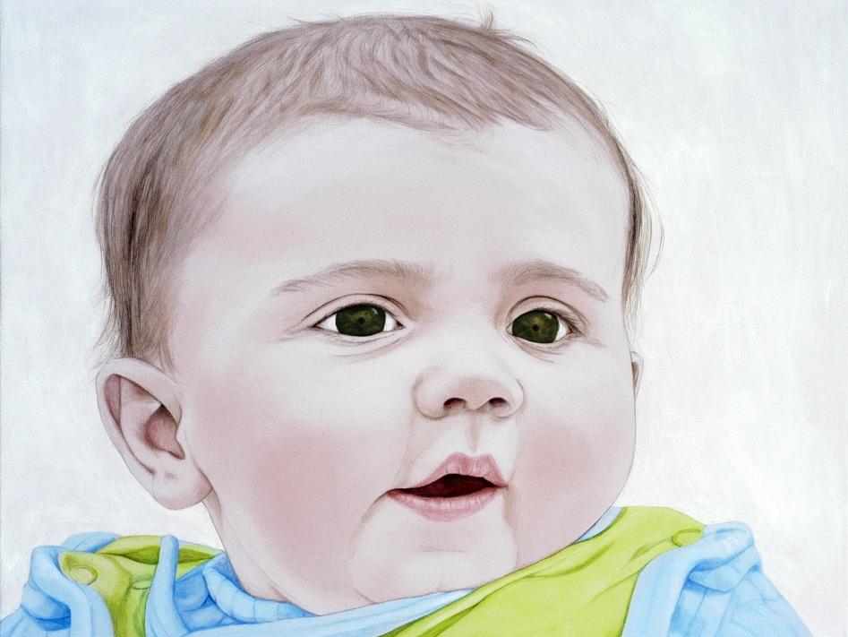 Julie - Acrylic on canvas90 x 120 cm (35 x 47)