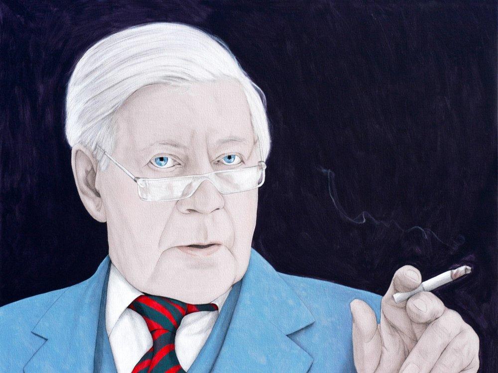 Helmut - Acrylic on canvas100 x 130 cm (39 x 51)