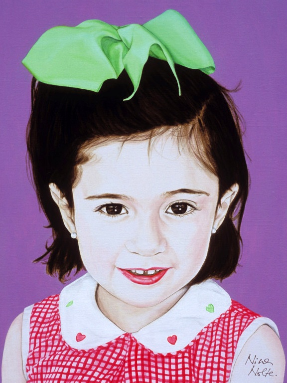 Gloria and Paco - Acrylic on canvas115 x 89 cm (45 x 35)