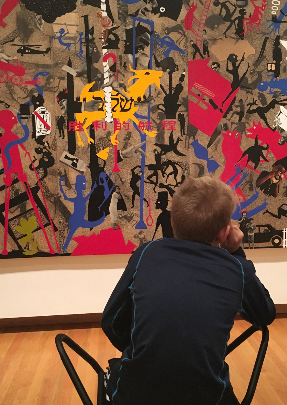 Sixth grade trip to The Nasher Museum of Art