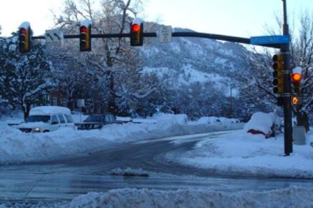 2006 snowstorm in Boulder