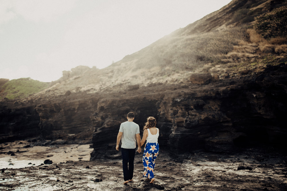 Megan + Eric's Engagement Session in Honolulu, Hawaii