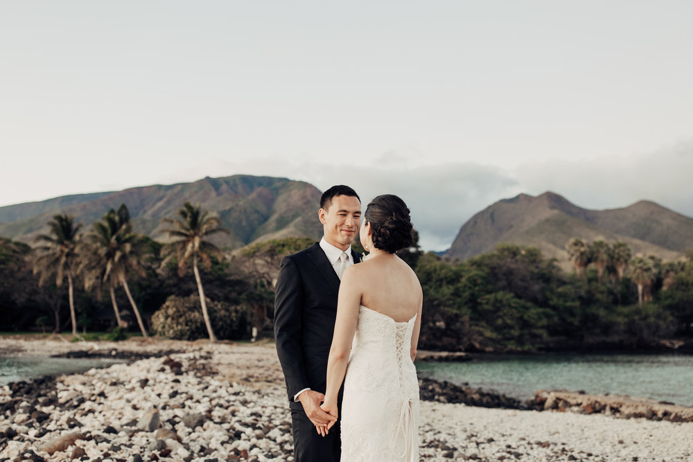 Maya + Gen's Wedding at Olowalu Plantation House | Maui, Hawaii