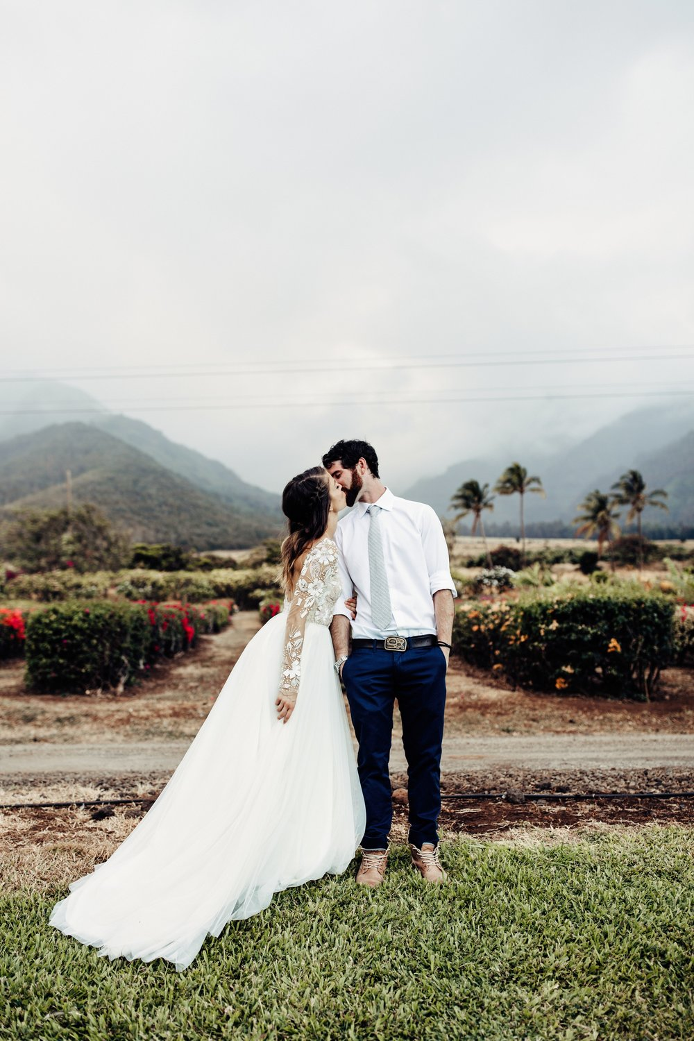 Maui Tropical Plantation Wedding | Laura + Jeremy