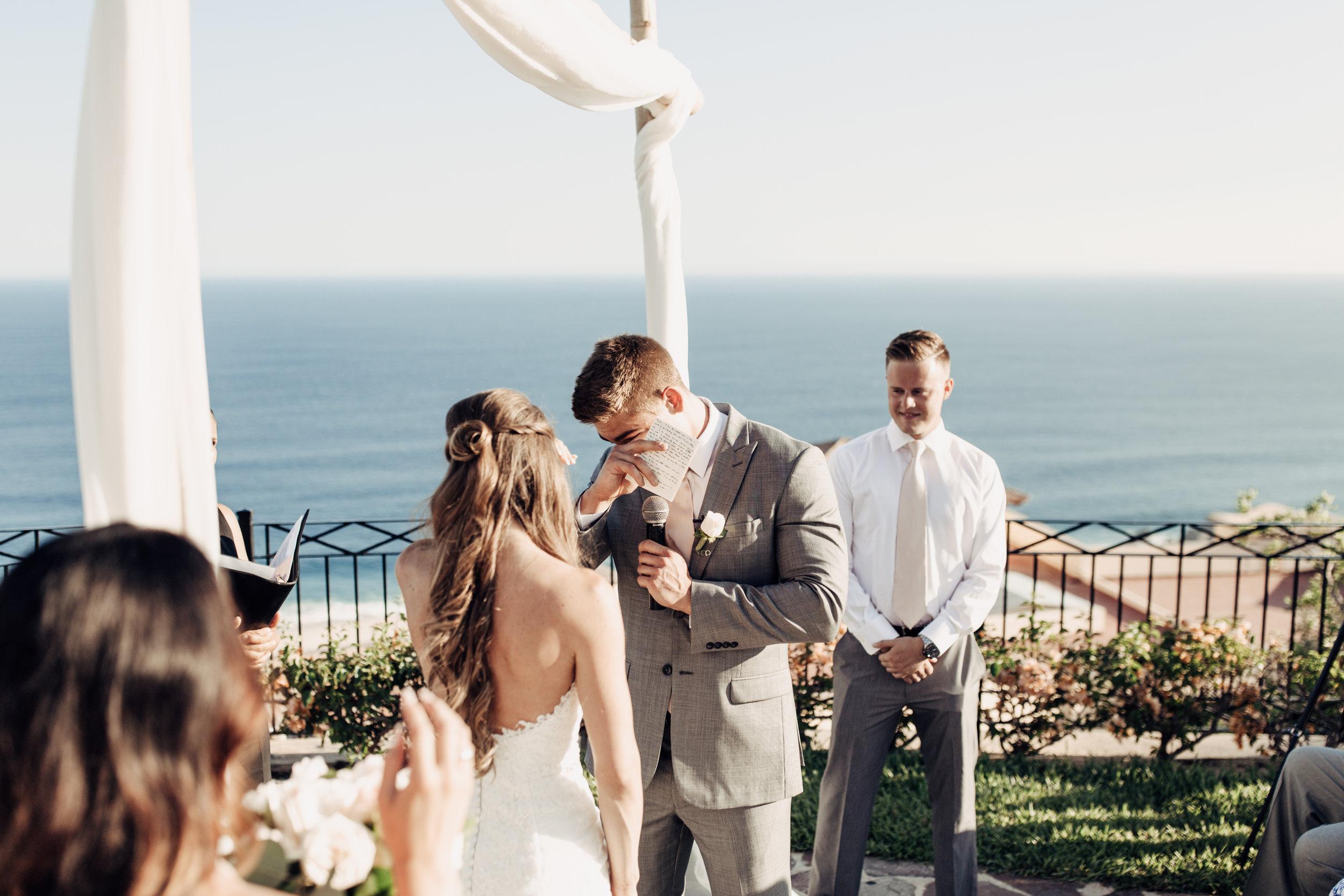 Pueblo Bonito Sunset Beach Wedding | Cabo San Lucas, Mexico | Taylor ...