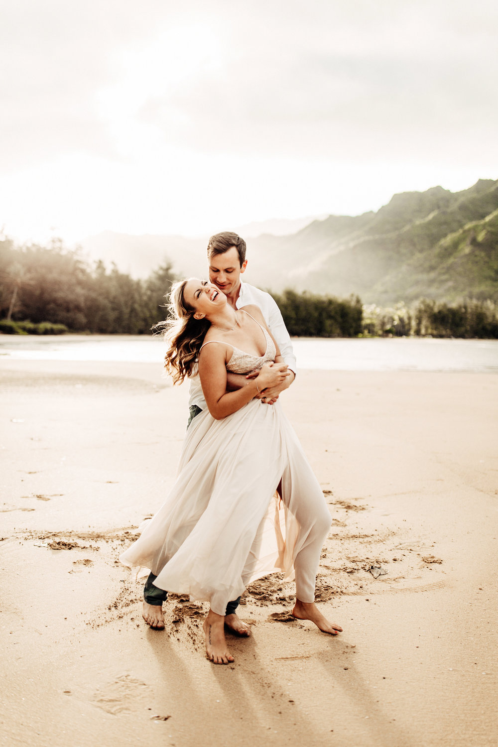 Sunset at Kahana Bay | Engagement Session