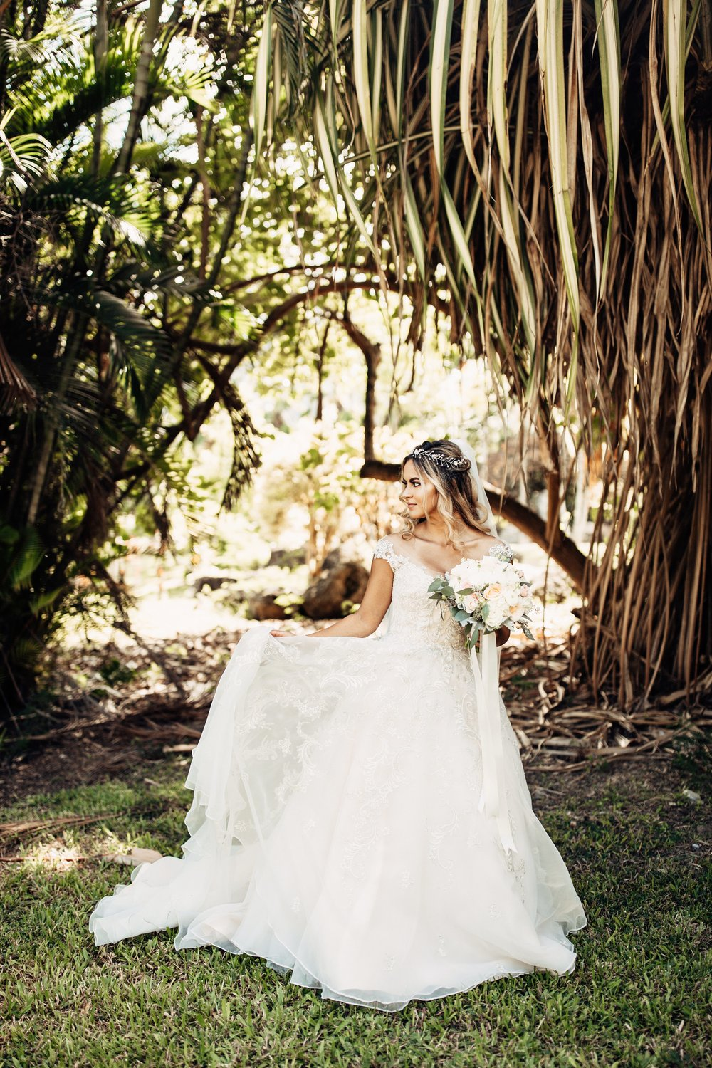 Secret Island Kualoa Ranch Wedding | Oahu, HI | Merri + Justin