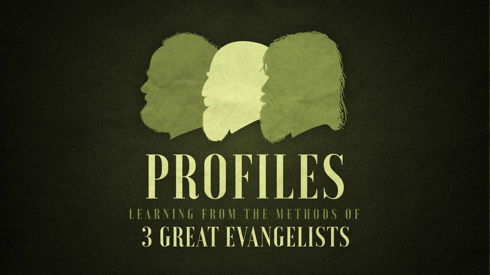 Profiles Sermon Series at The Mission Church in South Jordan Utah