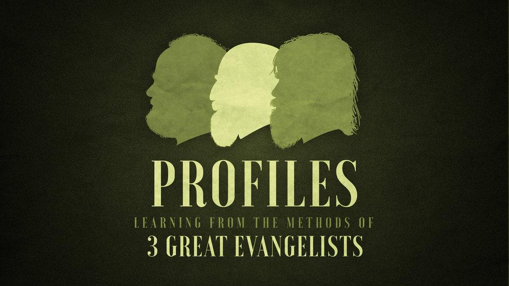 Profiles Sermon Series at The Mission Church in South Jordan Utah