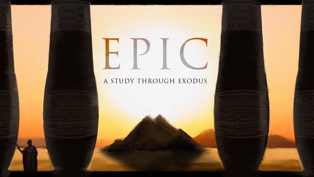 Exodus Sermon Series at The Mission Church in South Jordan utah