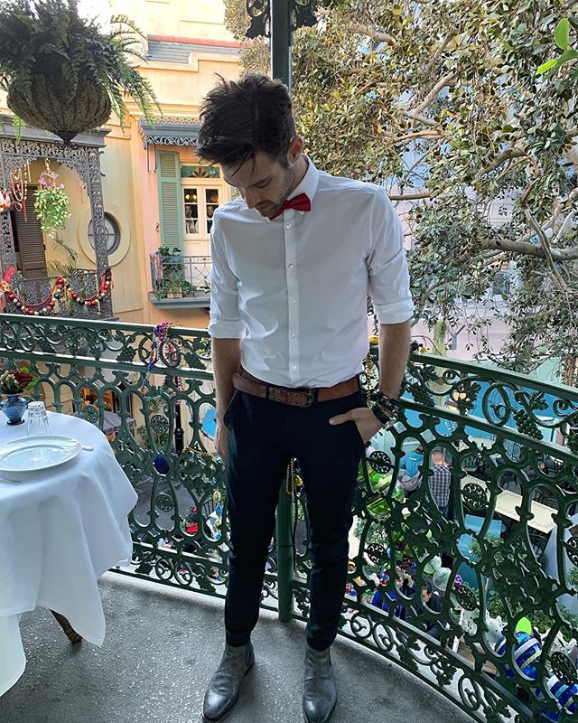 Disneyland Club 33 vibes #dontbetalkingaboutmybowtie #dapper #fashion #swag #style #stylish #socialsteeze #socialsteeze #swagger #photooftheday #jacket #hair #pants #shirt #handsome #cool #polo #swagg #guy #boy #boys #man #model #tshirt #shoes #sneakers #styles #jeans #fresh #dope