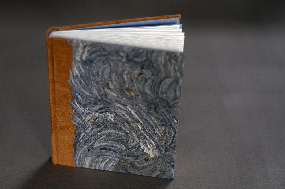 Suede & Wasp Nest Journal