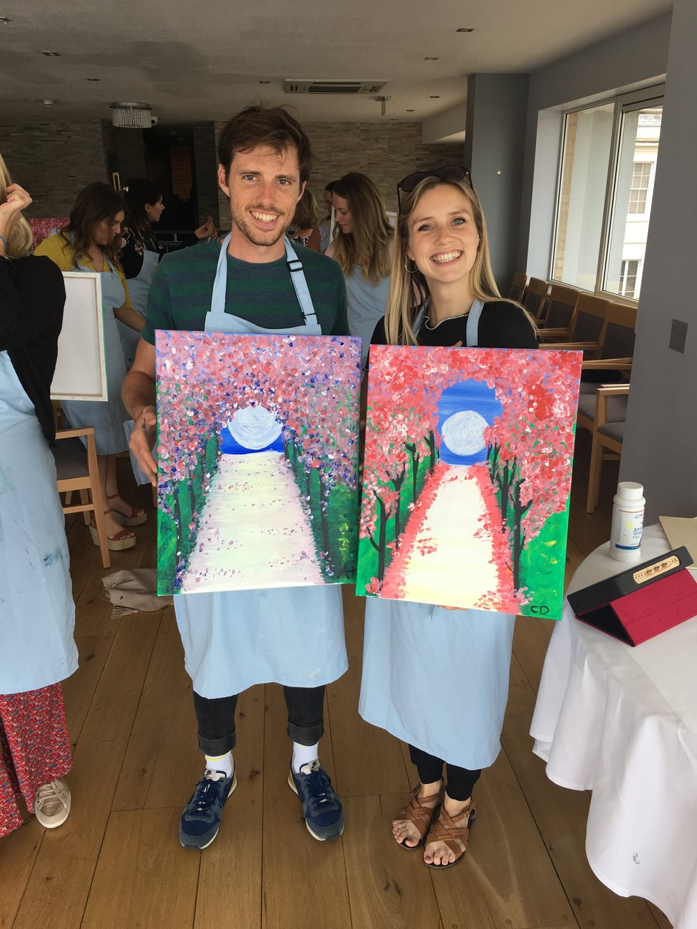 His and Hers Paintings!