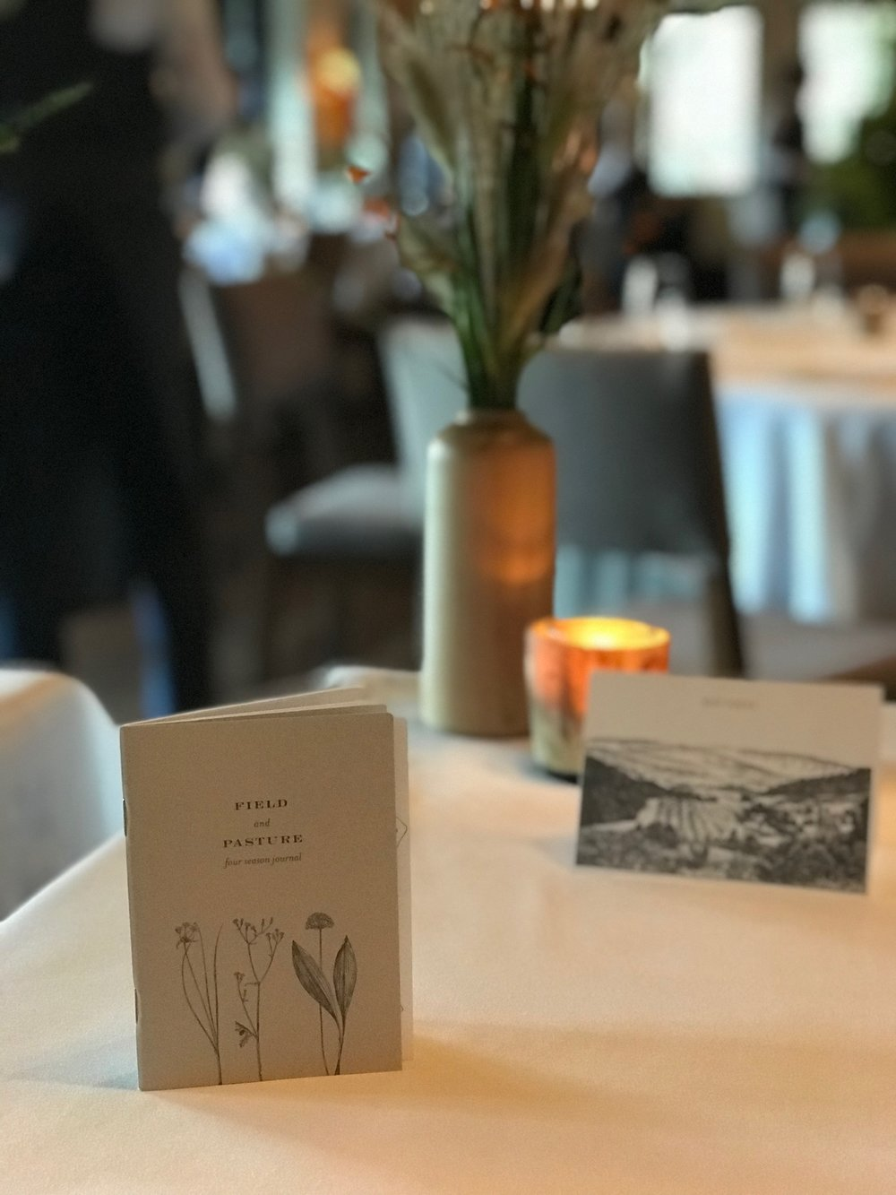 There is no menu at Stone Barns, so each diner gets a slightly different meal.