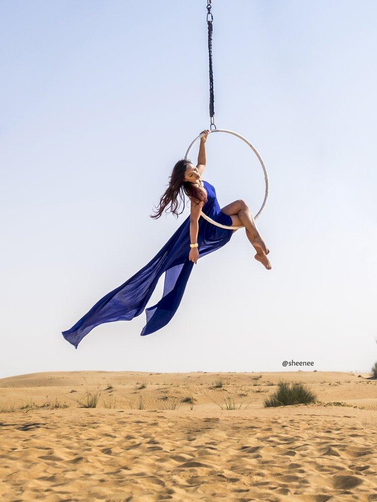 Aerial Hoop Tricks
