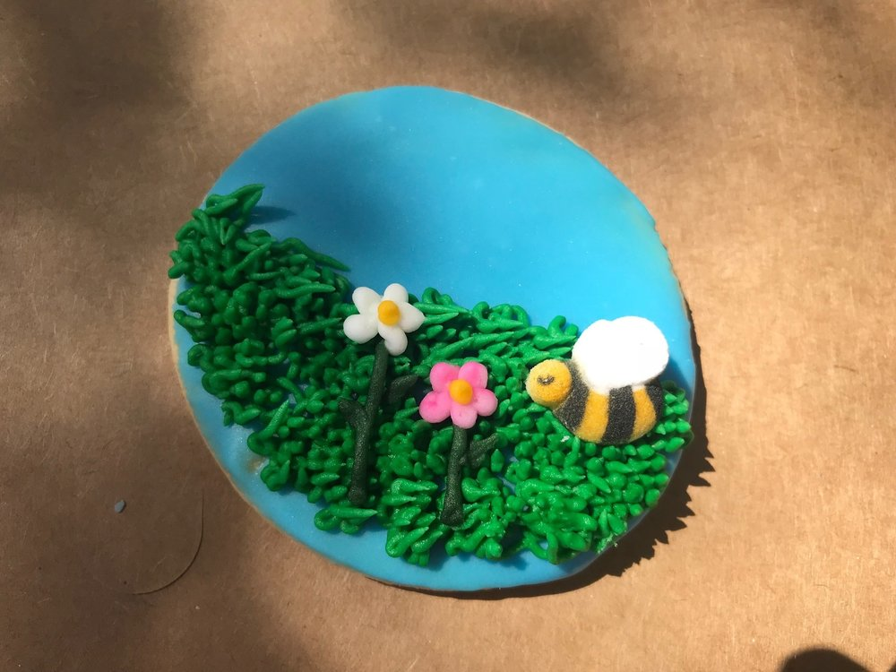 No Pollinator Party is complete without Pollinator Cookies! Yum.