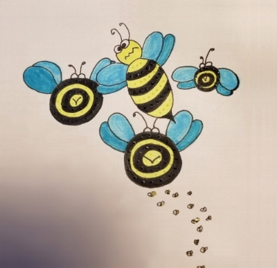 BeesLeavingDrawing-180907.jpg