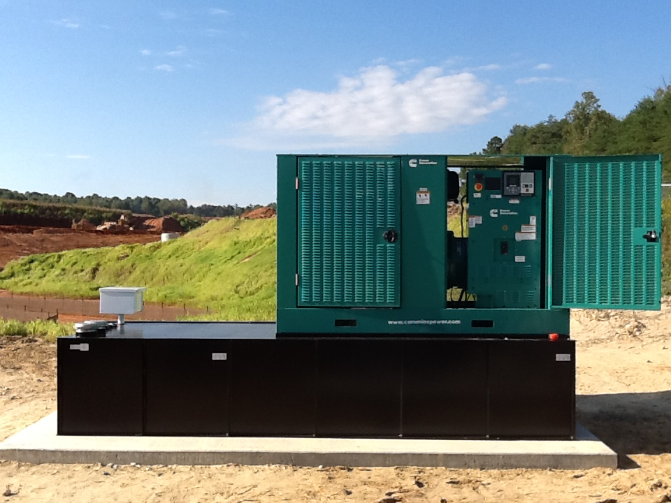Lincoln County Airport - Installed new service panels, pump controls, and generator.