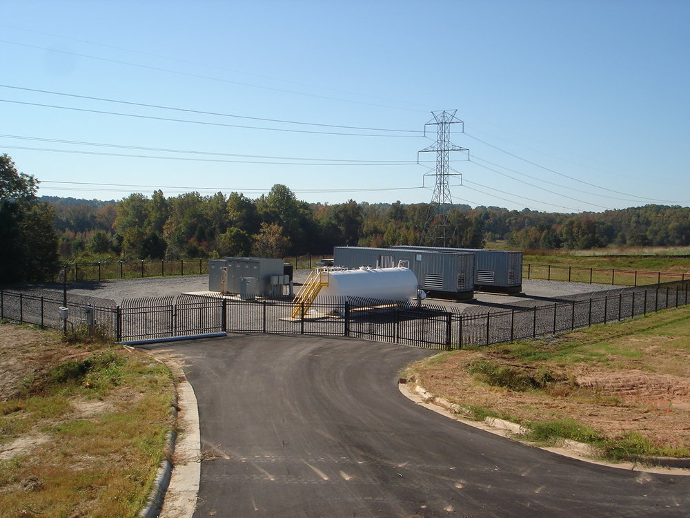 Gastonia Prime Power Park - Installed a 4.5MW Cogeneration/Standby Power Facility for NCMPA #1.