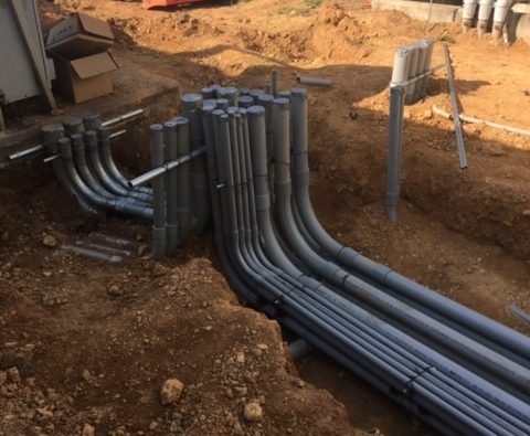 Monroe Water Treatment Plant - Installed 2500 amp Service Equipment for Water Treatment Plant.