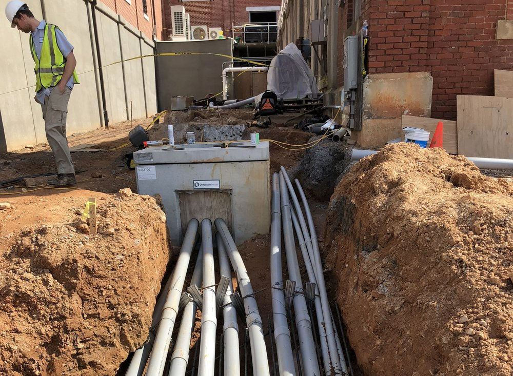 City of Gastonia WTP - Repairing a 5kV Duct Bank.*Current Project