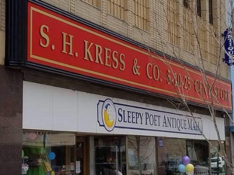 Sleepy Poet Antiques - Added new service for HVAC equipment in historic building in downtown Gastonia.