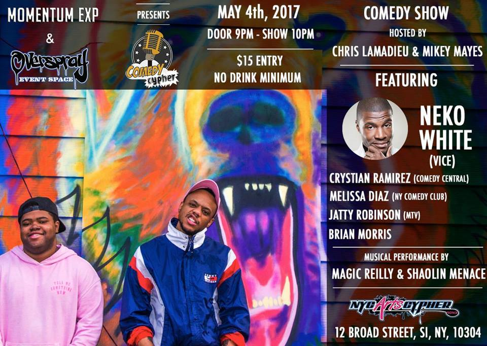 Comedy Cypher May 4th!