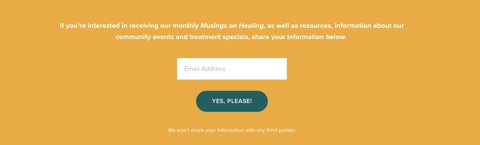 Branding Your Newsletter | Monthly Musings on Healing
