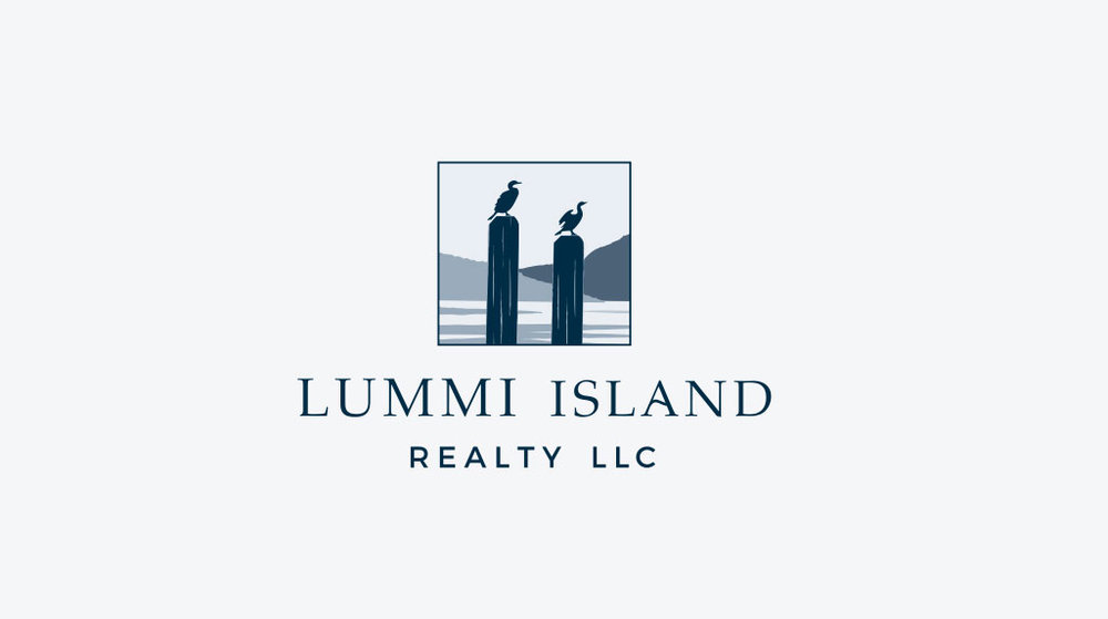 Lummi Island Realty Logo Design
