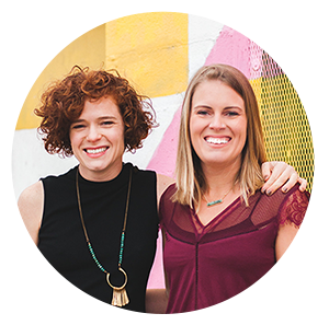 Callie & Shelly, The Look & The Feel Co-Founders