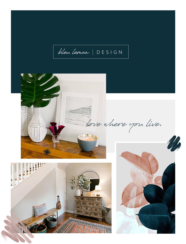 Bleu Leman Design Brand