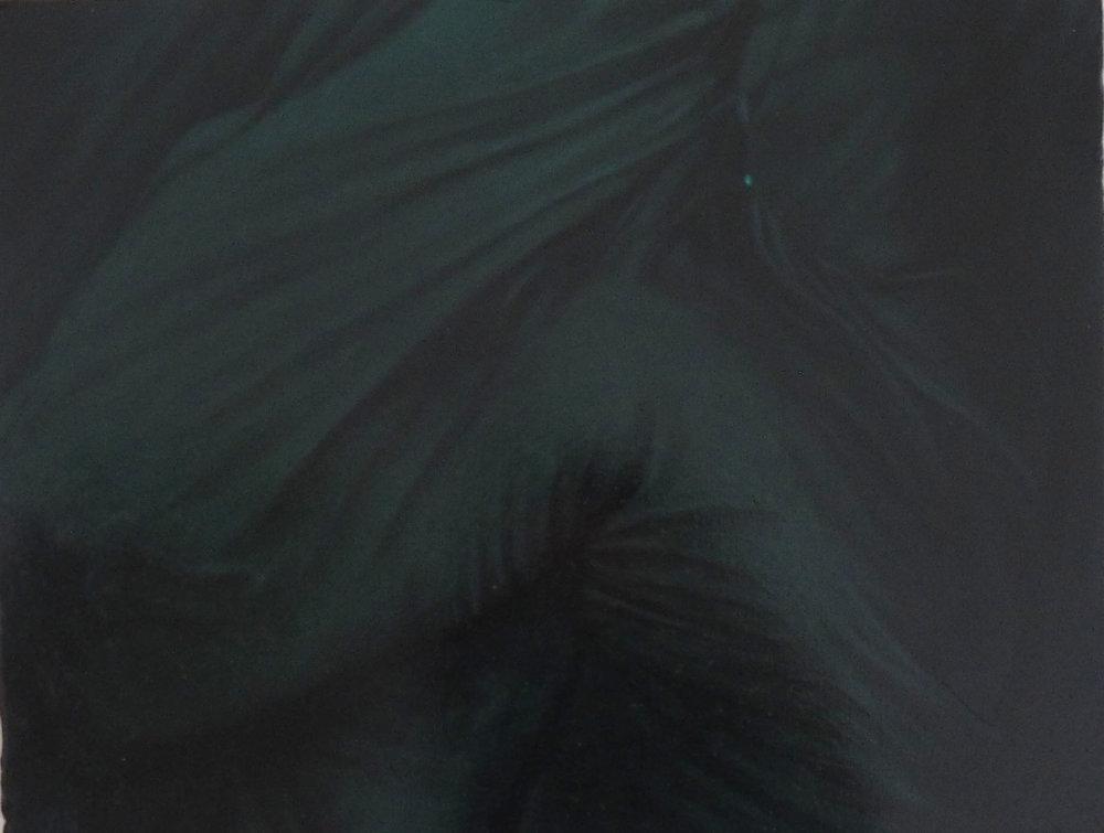Le désir, huile sur acier, 15x20cm, 2018