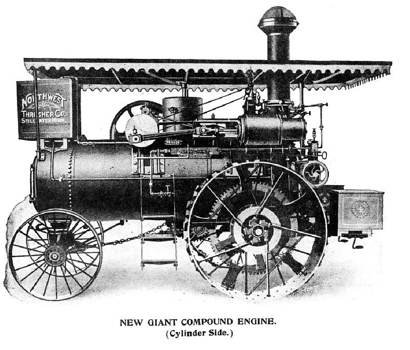 Promotional Literature about The New Giant Traction Engine, ca. 1900.