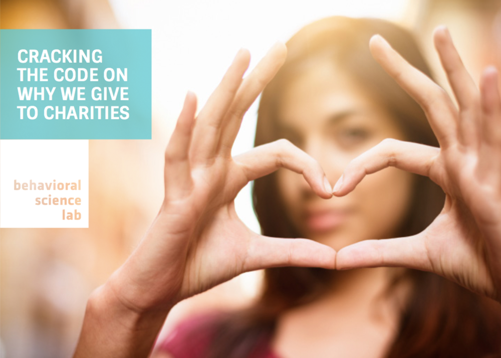 Cracking The Code On Why We Give To Charities -