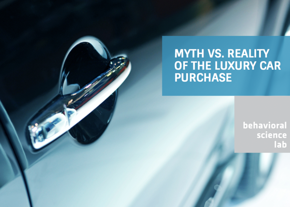 Myth vs. Reality Of The Luxury Car Purchase -