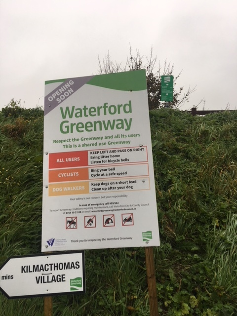 Rules of the Waterford Greenway