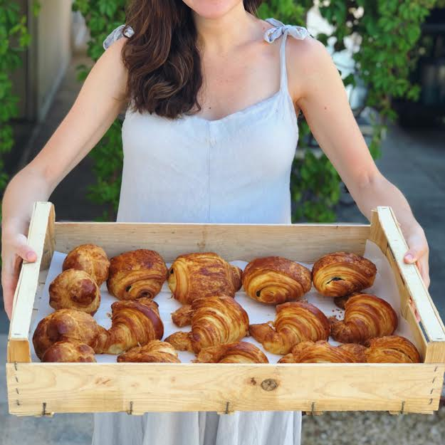 Croissants from Patisserie d'Olivier in Saint-Remy