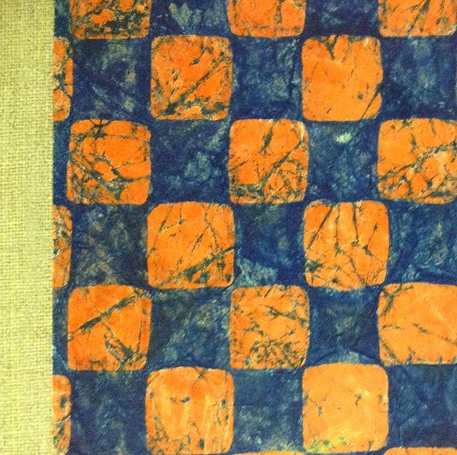 pattern inspiration-handmade bookbinding , circa 1900, found in Wales today  #pattern #print #binding #handmade #batik #2iq