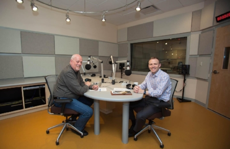 "Mark Singleton, Artistic Director of Voce interviews with John Nowacki at NEPR to premiere ""Music of the Spheres"" - click HERE to listen"