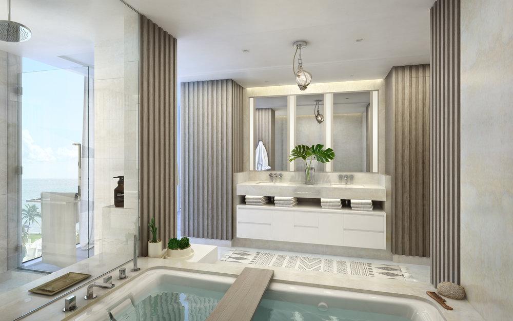 Bathrooms -