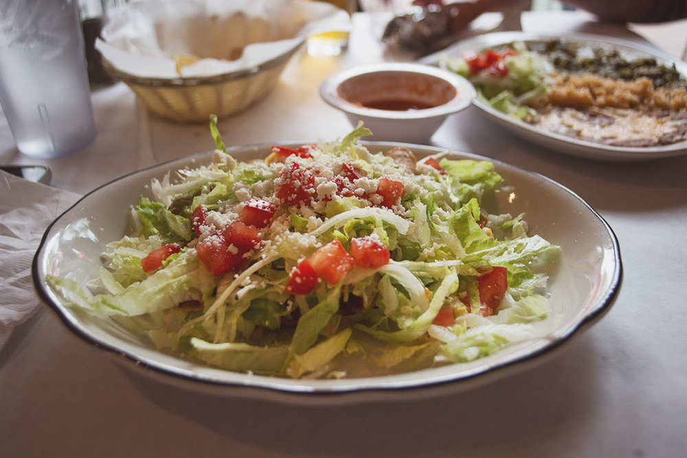 And I had the taquitos. They were under all the lettuce... but still very tasty.