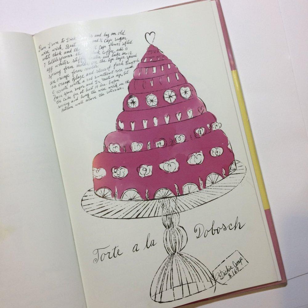 Torte a la Dobosch - Wild Raspberries by Suzie Frankfurt & Andy Warhol