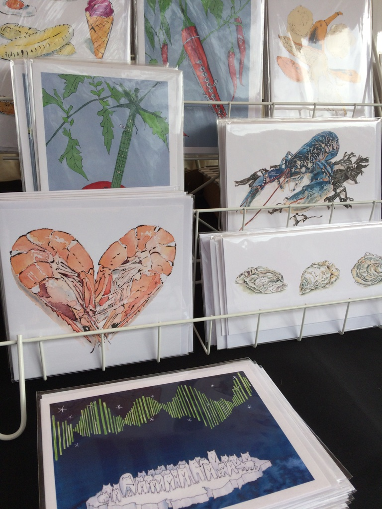 Blank Greetings Cards & Christmas Cards by Lucy Clayton at The Pantiles Christmas Market