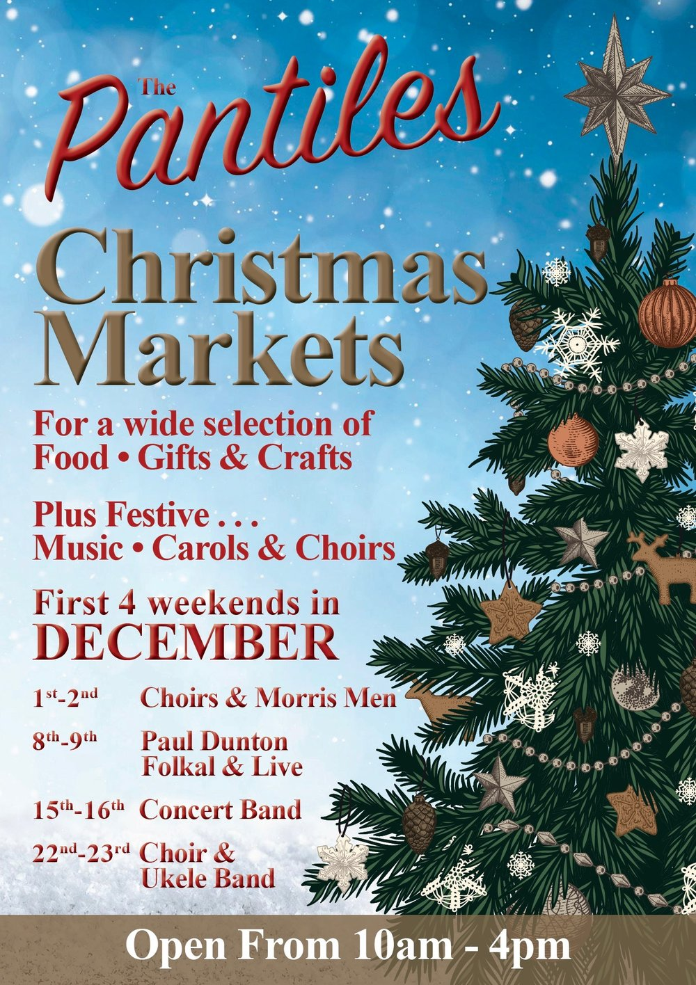 The Pantiles Christmas Market, Tunbridge Wells, Kent