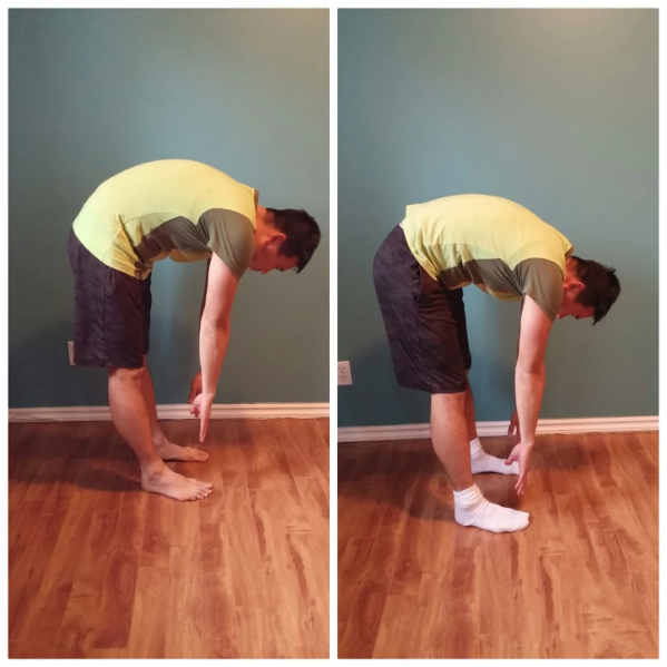 Flexibility before and after one hour of fascial stretching
