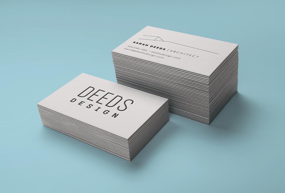 Deeds Design Business Card