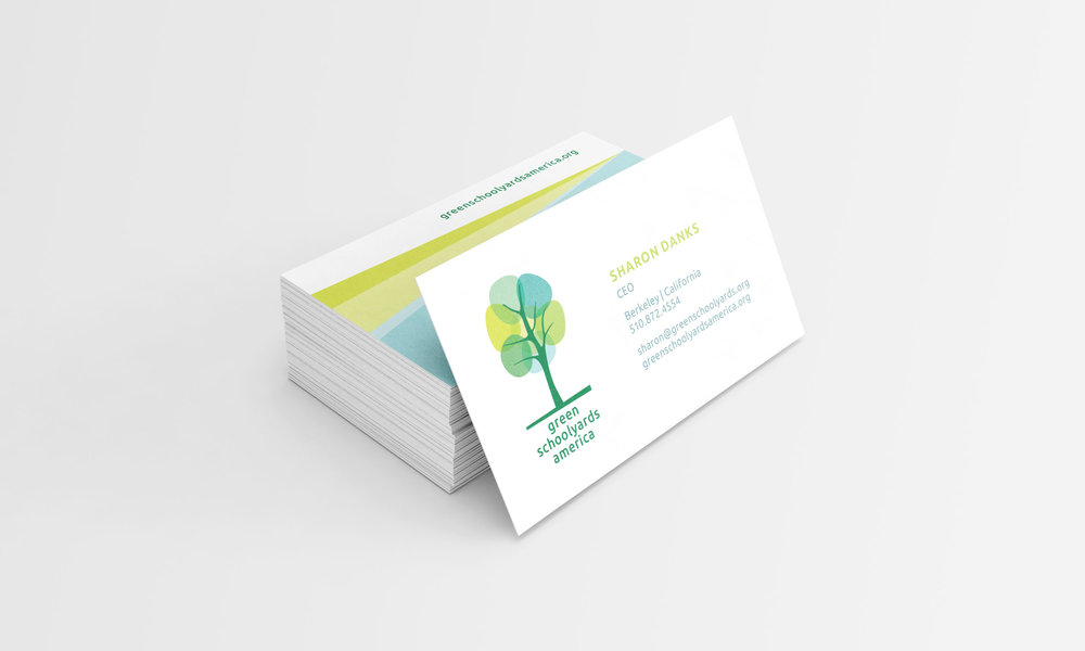 Green Schoolyards America Business Card