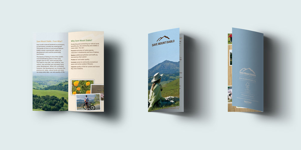 Save Mount Diablo Brochure