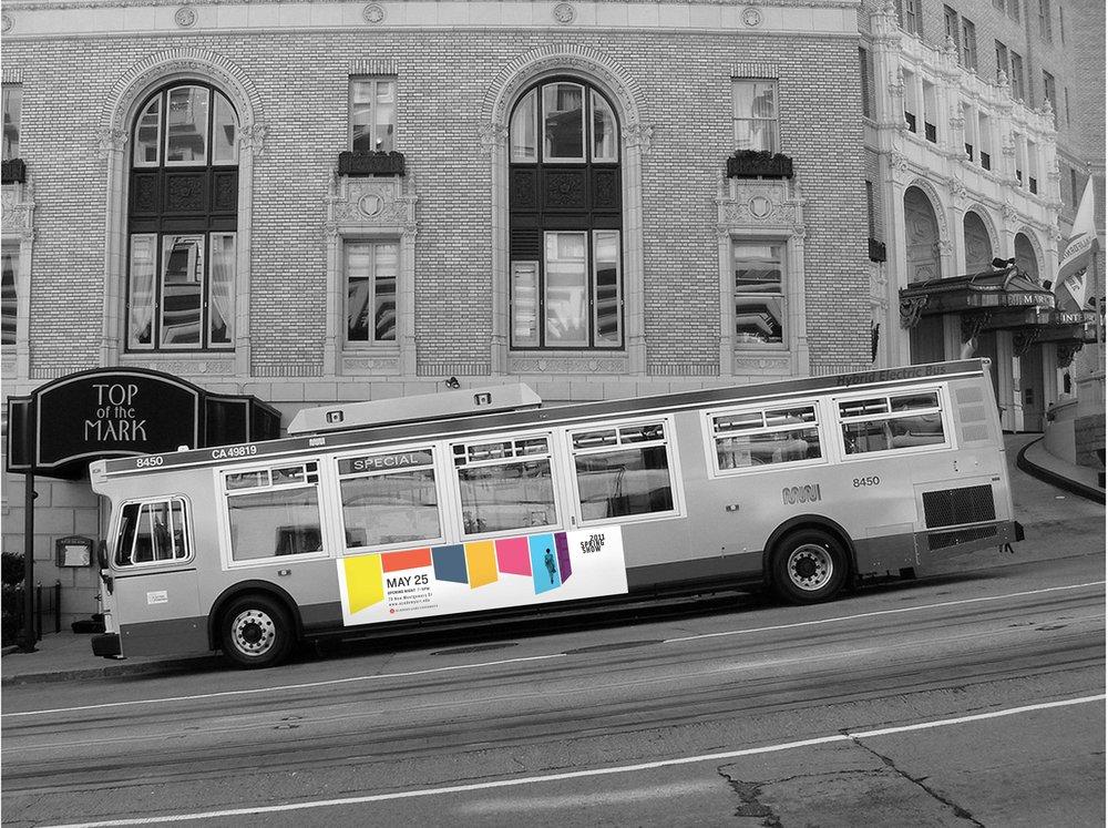 Art Show Bus Banner