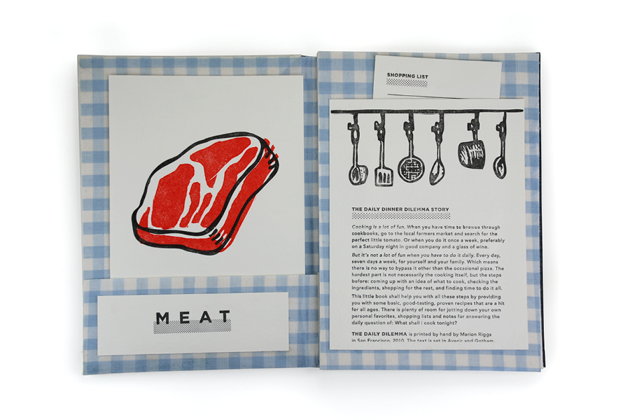 Letterpress Recipe Kit